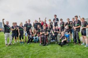 De teams van de Vogellanden leverden stuk voor stuk weer goede prestaties. Foto Annet van Raalte www.sportiefzwolle.nl
